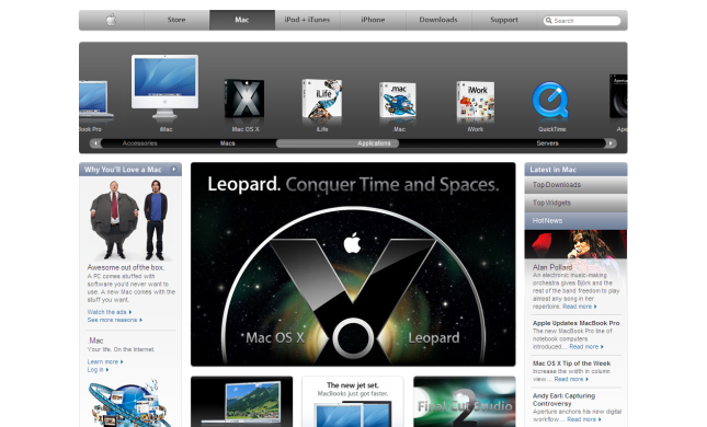 Apple Mac Page